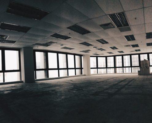 Черновая отделка офисов