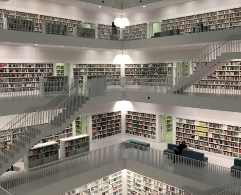 Заказать ремонт библиотеки под ключ