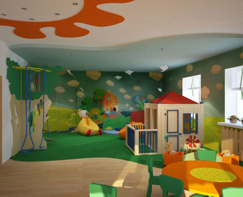 Косметический ремонт в детском саду