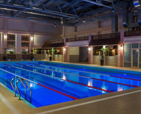 отделка помещений бассейнов цена