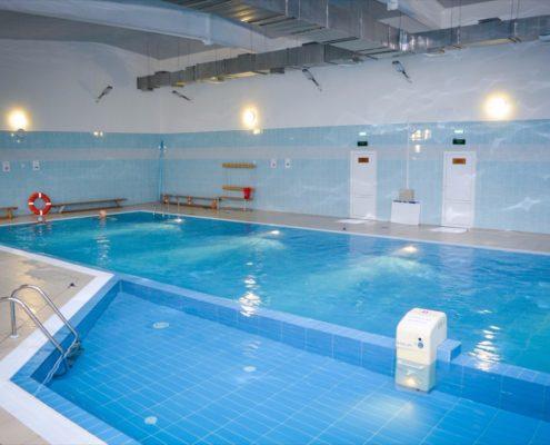 отделка помещений бассейнов в Москве под ключ
