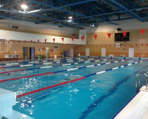 отделка помещений бассейнов в Москве