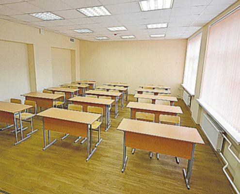 ремонт класса в школе