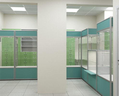 ремонт аптеки цена в Москве