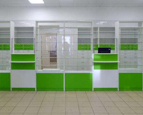 ремонт аптечных помещений под ключ