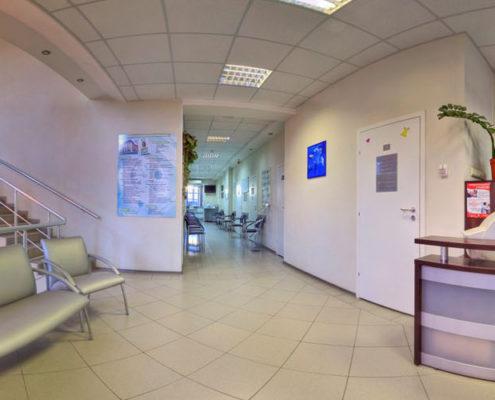 Ремонт помещений в клинике в Москве
