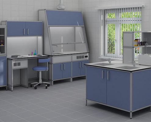 отделка лабораторных кабинетов под ключ в Москве