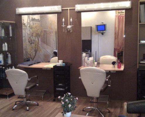 ремонт помещений парикмахерской под ключ в Москве
