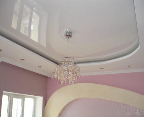 ремонт потолка в помещении