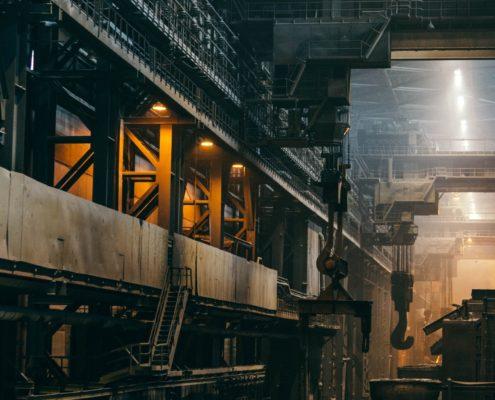 Отделка промышленных помещений