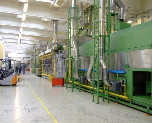 Отделка стен производственных помещений