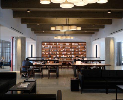 ремонт библиотеки под ключ в Москве