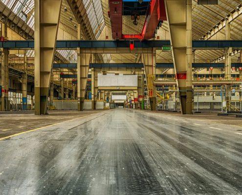 Капитальный ремонт производственных помещений