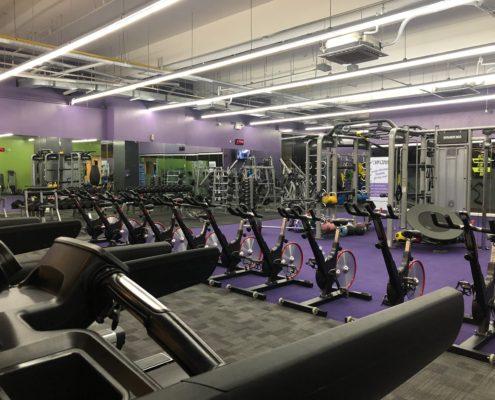 отделка спортивного зала