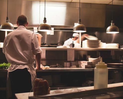 Ремонт кухни ресторана