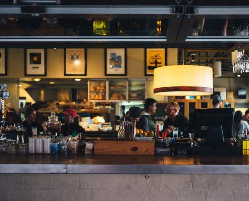 Ремонт под кафе