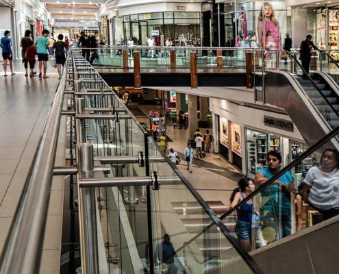 Ремонт торговых помещений в торговом центре