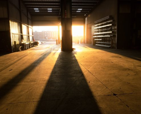 Ремонт производственных помещений складов