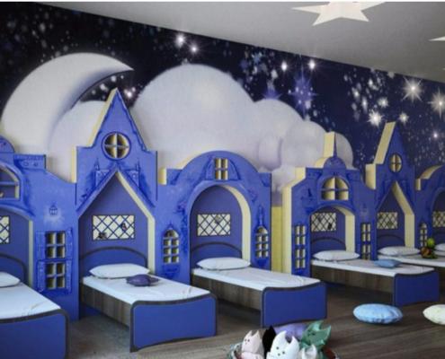 Ремонт спальни в детском саду