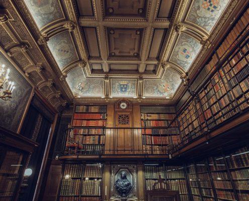 Отделка библиотеки