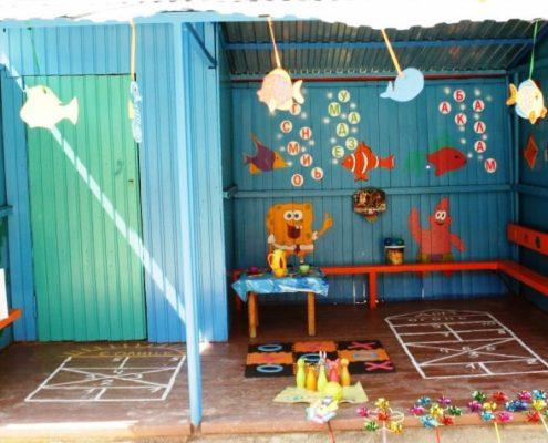 Ремонт веранды в детском саду