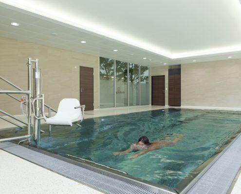 Ремонт помещения бассейна под ключ